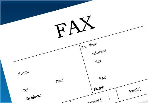 FAX送信状08(英語・枠あり)