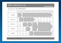 スケジュール03(部署別)