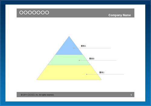 構成図31(三角階層・色)